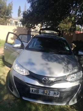 Toyota yaris 2019 model, 1litre engine capacity. price negotiable