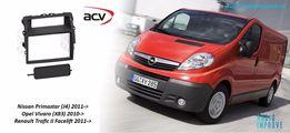 Перехідна рамка 2din Renault Trafic / Opel Vivaro / Nissan Primastar