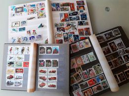 Кляссеры с почтовыми марками зарубежных стран и СССР (70х - 80х годов)