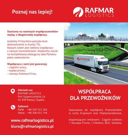 Współpraca dla Firm Transportowych, Przewoźników - LINIA, Wahadło Tarnów - image 1