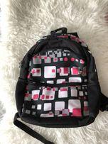 Plecak czarny młodzieżowy różowy wzorki adidas nike puma Jordan