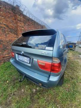 BMW X5 3.0i in great driving condition, body is very clean .