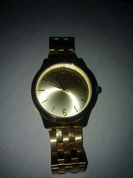 Lanco gold platet whatch