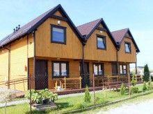 Komfortowe drewniane domki nad morzem, do wynajęcia w Sarbinowie
