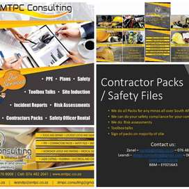 Contractor Packs and Safety Files