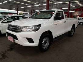 2016 Toyota Hilux 2.4GD-6 SRX 4X4 LWB DIESEL WITH 157000KMS  SERVICE H