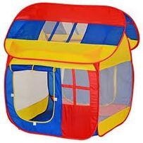 Детская игровая палатка с окнами и колышками, 0508 (905M), 111-107-104