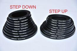 Переходное кольцо Step Up Down 37/49/52/52/58/62/67/72/77/82 мм