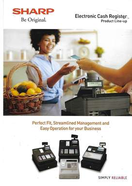 SHARP XE-A207 ELECTRONIC CASH REGISTER FOR SALE