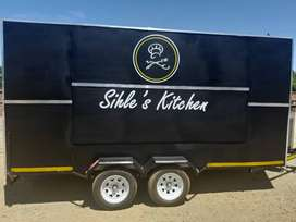 2019 Branded Mobile kitchen ised for less than 6 months