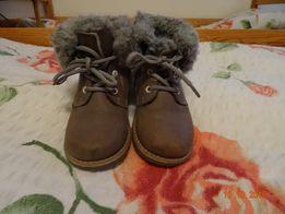 Zimowe buty skórzane Lasocki Kids rozmiar 24