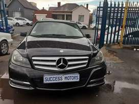 2013 Mercedes Benz C180 auto with a sunroof