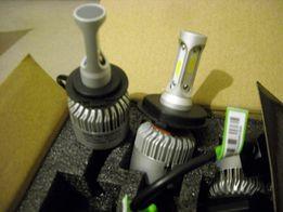 Светодиодные лампы Led H1, H4, H7, Н3 72W ближний дальний свет