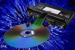 Запись кассет VHS и miniDV на DVD и другие цифровые носители