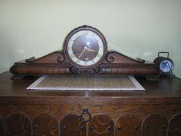 Антикварные голландские каминные-настольные часы, вестминстерский бой