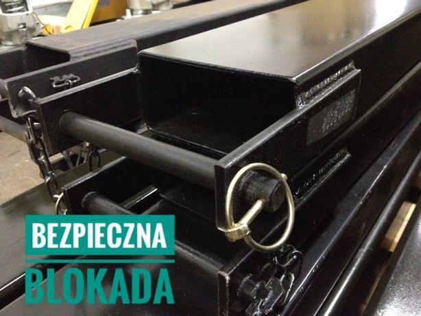 Przedłużenie, przedłużka wideł 1800mm do wózka widłowego Poznań - image 4