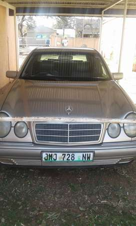 as is running condition merdez benz e240