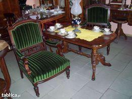 Stół, Ława Orzechowa Antyk