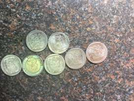Presidential inauguration and Mandela coins
