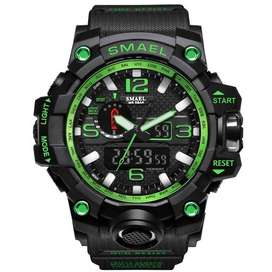 SMAEL Brand Men Sports Watches Dual