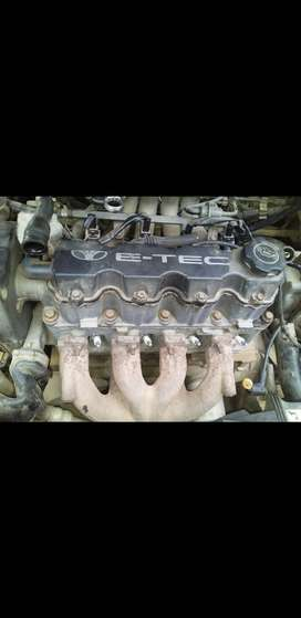 Engine with gearbox daewoo lanos