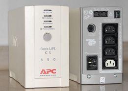Бесперебойник APC Back-UPS CS 500VA / 650VA
