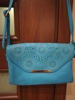 niebieska torebka