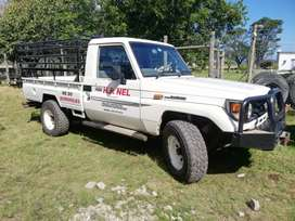 Land Cruiser with spare load body