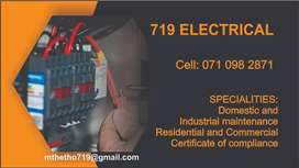 719 ELECTRICAL INSTALATION AND REPAIRS