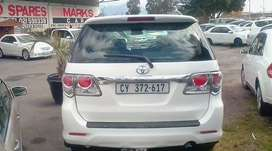 2012 Toyota Fortuner D4D Electric windows