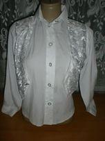 Блузку на девочку 7-8 лет