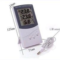Термометр, гигрометр, метеостанция + выносной датчик TA 318