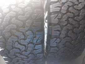Two new tyres sizes 285/60/18 bfgoodrich ko2 now available