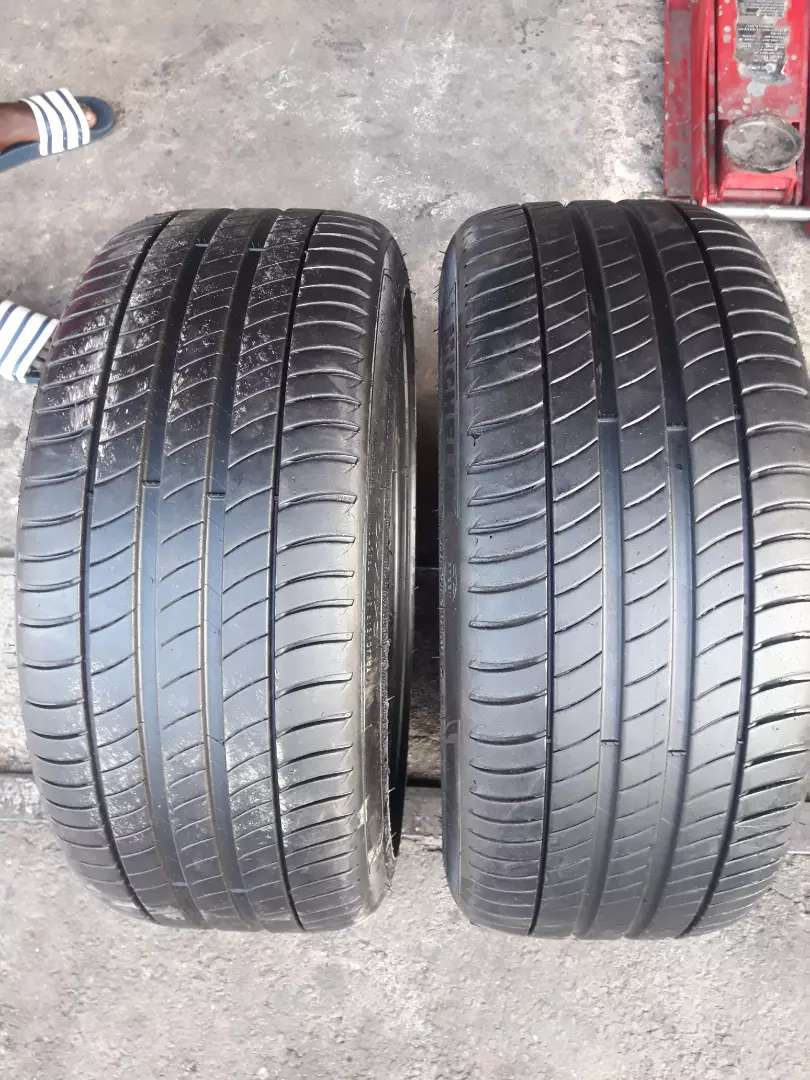 245/40 19 two runflat Michelin tyres 95% as good as new 0