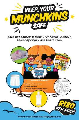 Keep your munchkins safe carry bags