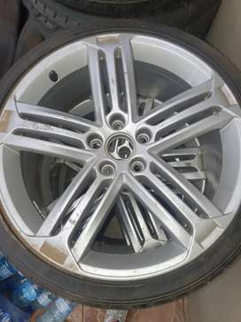 Golf 6R mags and tyres