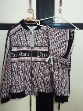 Go with a style Christian Dior set pink &black all size available
