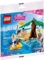 Lego Disney Princes 30397 Frozen Kraina Lodu OLAF Na Wakacjach NOWE !