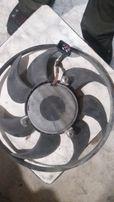 Вентилятор малый обдува радиатора Шкода А5