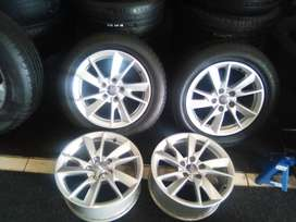 16 inch Audi mags with 5x112 pcd for R3000.
