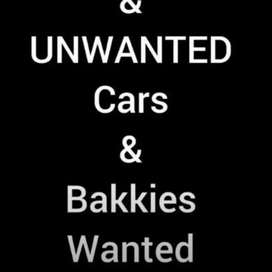 Vehicles wanted urgently
