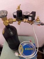 аквариумная СО2 система Camozzi камоци баллон балон углекислотный