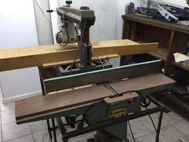 Arm saw and planer