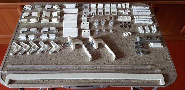 Фурнитура к металлолопластиковым окнам, жалюзям и москитным сеткам
