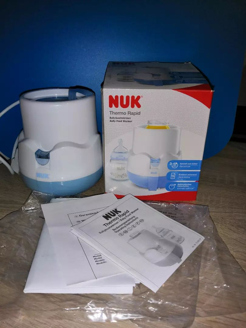 NUK elektrická ohřívačka na kojenecké láhve THERMO RAPID       . 0