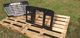 Land rover series grills