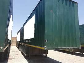 Used 2013 SA Truck Bodies Tadem Budget Van Link Trailers for sale