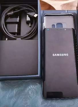 Samsung Galaxy S9 with box and all original accessories