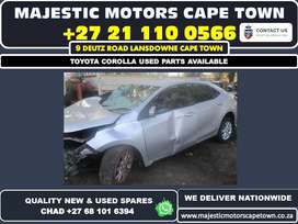 Toyota Corolla used parts available