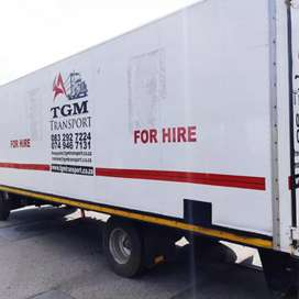TRUCK FOR HIRE FURNITURE REMOVAL